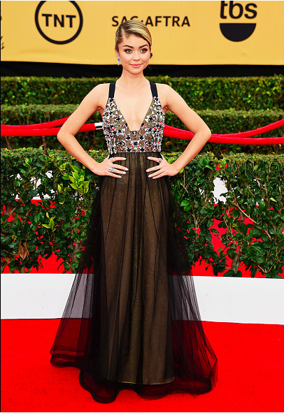 On The Red Carpet - Best Dressed at the 2015 SAG Awards 2