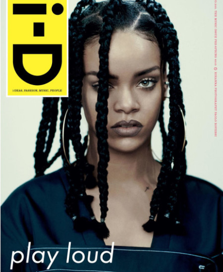 Rihanna Shows Off A New Hairstyle On The Cover Of i-D Magazine