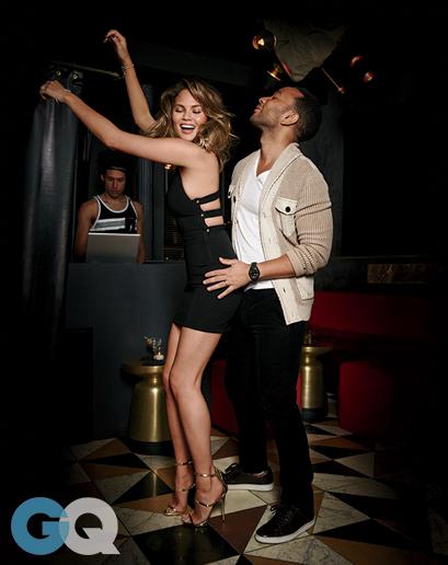 So In Love - John Legend & Chrissy Teigen Get Steamy for GQ January 2015 3