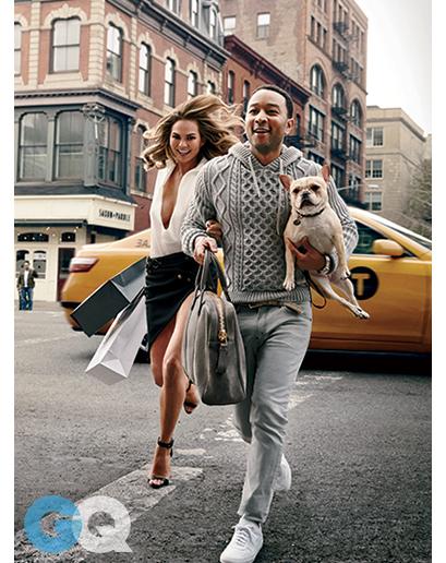 So In Love - John Legend & Chrissy Teigen Get Steamy for GQ January 2015 4