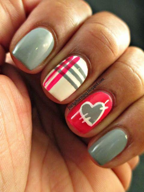 Valentine's Day Nail Art & Design Ideas 10
