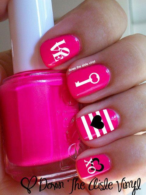 Valentine's Day Nail Art & Design Ideas 12
