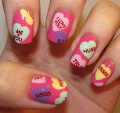 Valentine's Day Nail Art & Design Ideas 13