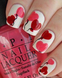 Valentine's Day Nail Art & Design Ideas 16