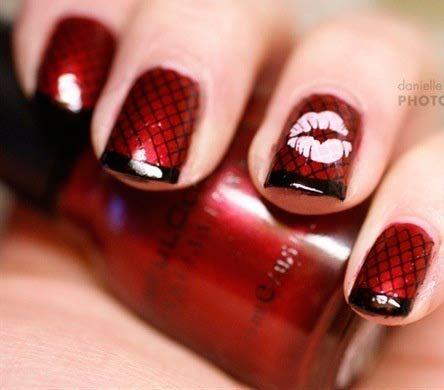 Valentine\'s Day Nail Art & Design Ideas 17 - Fashion Trend Seeker