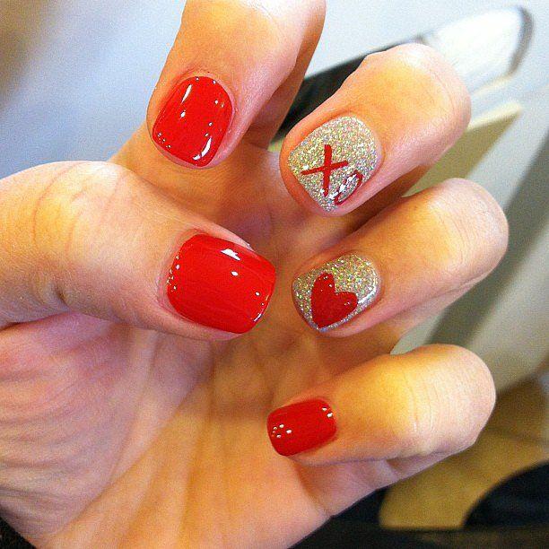 Valentine's Day Nail Art & Design Ideas 2