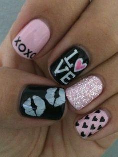 Valentine's Day Nail Art & Design Ideas 3