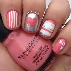 Valentine's Day Nail Art & Design Ideas