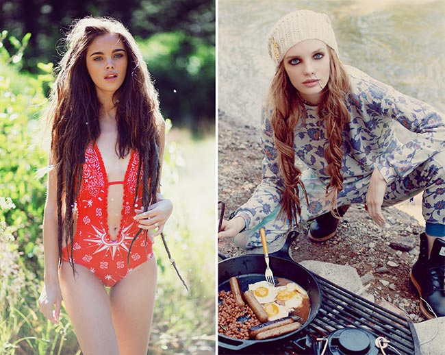 Fashion Trend Seeker: Wildfox Couture Spring 2015 AD Campaign