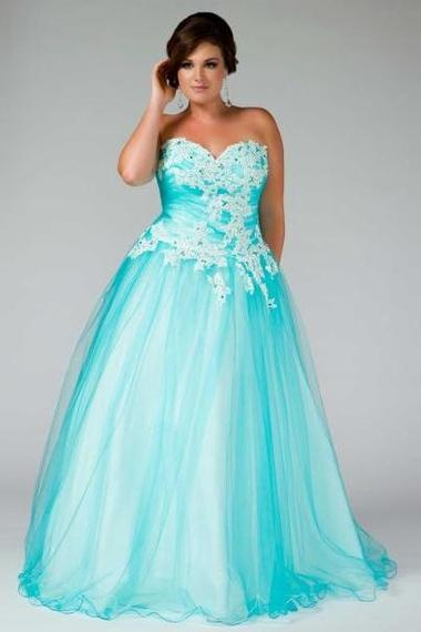 2015 Plus Size Prom Dresses 3