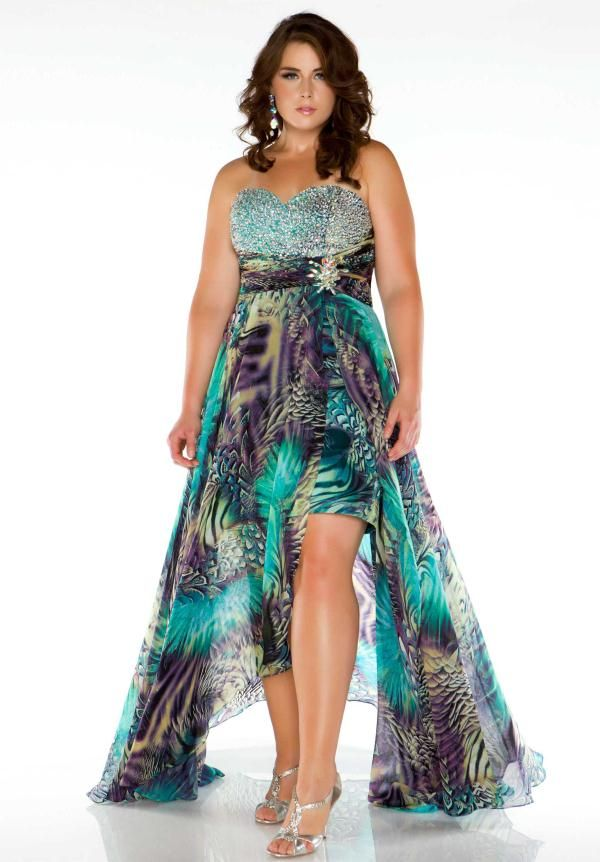2015 Plus Size Prom Dresses 4