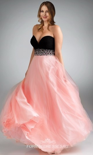 2015 Plus Size Prom Dresses 6