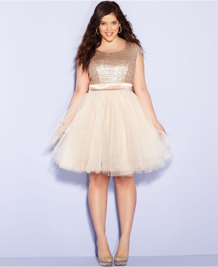2015 Plus Size Prom Dresses 7