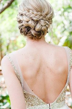 2015 Prom Hairstyles - Braided Prom Hair Ideas 12