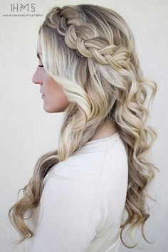 2015 Prom Hairstyles - Braided Prom Hair Ideas 3