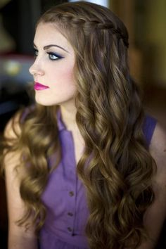 2015 Prom Hairstyles - Braided Prom Hair Ideas  7