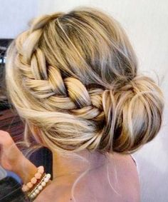 2015 Prom Hairstyles - Braided Prom Hair Ideas