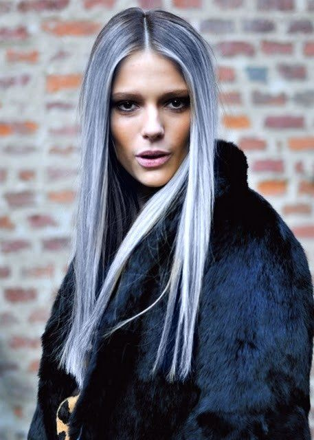 2015 Spring and Summer Hair Color Trends - Silver Hair 10