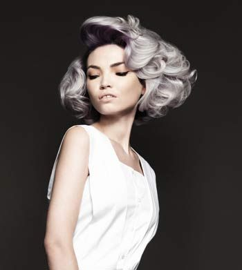 2015 Spring and Summer Hair Color Trends - Silver Hair 13
