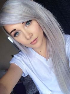 2015 Spring and Summer Hair Color Trends Silver Hair 14