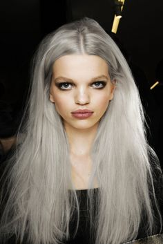 2015 Spring and Summer Hair Color Trends - Silver Hair 20