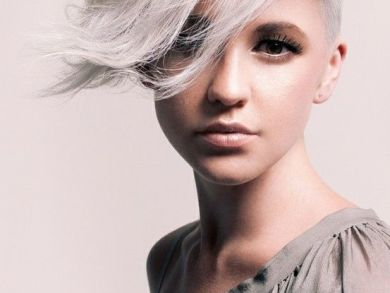 2015 Spring and Summer Hair Color Trends - Silver Hair 23