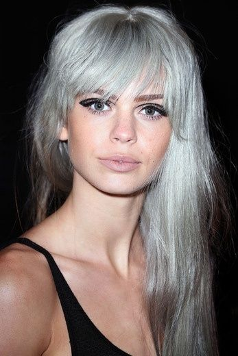 2015 spring and summer hair color trends silver hair 3 fashion