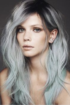 2015 Spring and Summer Hair Color Trends - Silver Hair 4
