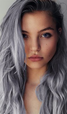 2015 spring and summer hair color trends silver hair 6 fashion