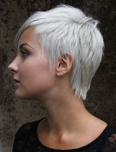 2015 Spring and Summer Hair Color Trends - Silver Hair 7