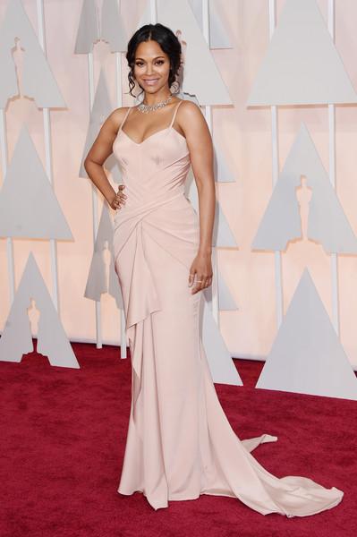 87th Annual Academy Awards Red Carpet Fashion – Zoe Saldana
