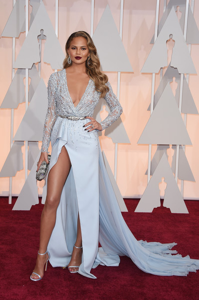 87th Annual Academy Awards Red Carpet Fashion - Chrissy Teigen & John Legend 2