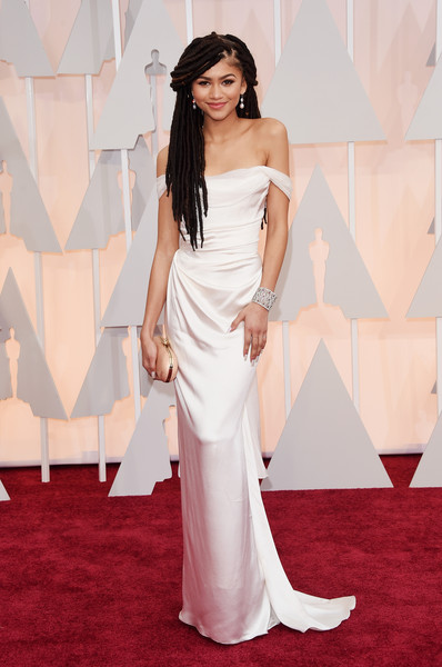 87th Annual Academy Awards Red Carpet Fashion - Zendaya Coleman Rocks Faux Locs 2