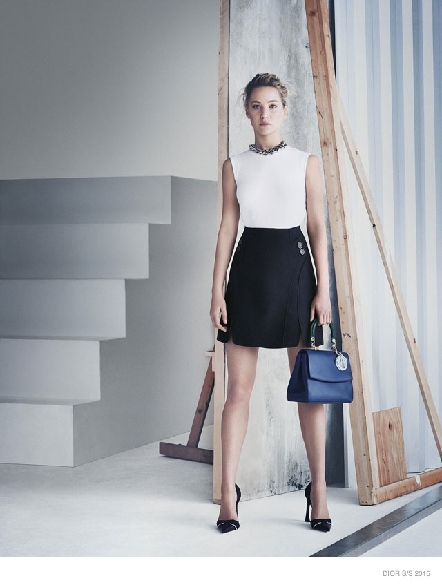 Jennifer Lawrence Models for Be Dior Spring '15 Ad Campaign 3
