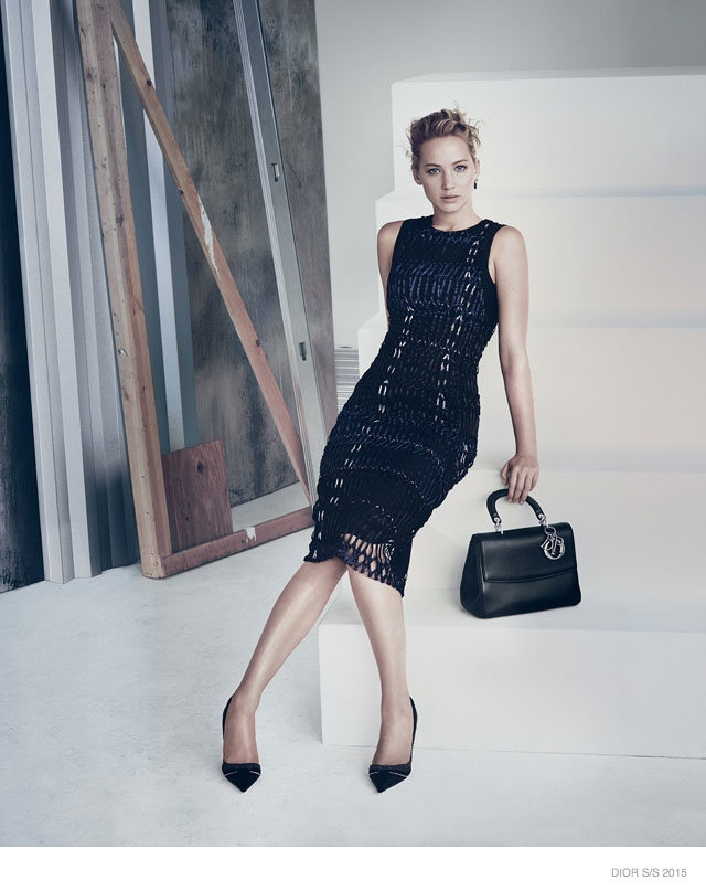 Jennifer Lawrence Models for Be Dior Spring '15 Ad Campaign 4