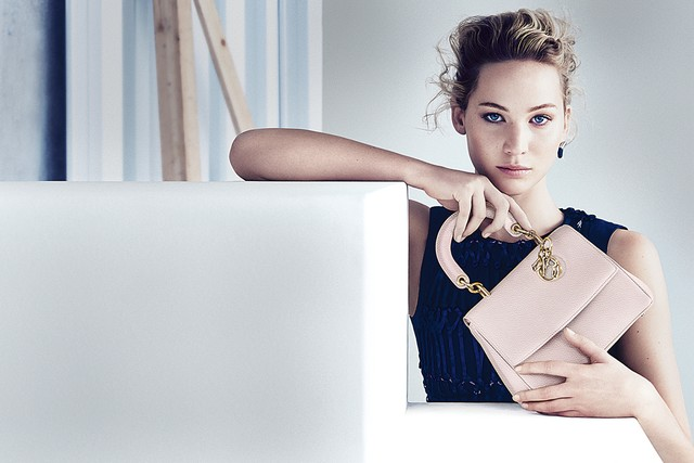 Jennifer Lawrence Models for Be Dior Spring '15 Ad Campaign 5