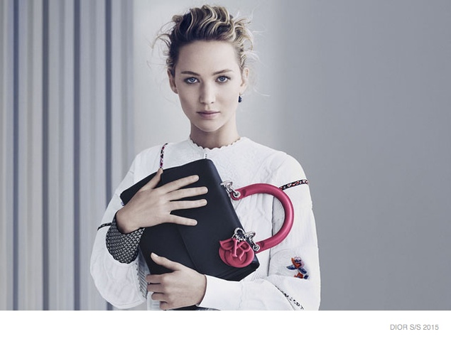 Jennifer Lawrence Models for Be Dior Spring '15 Ad Campaign
