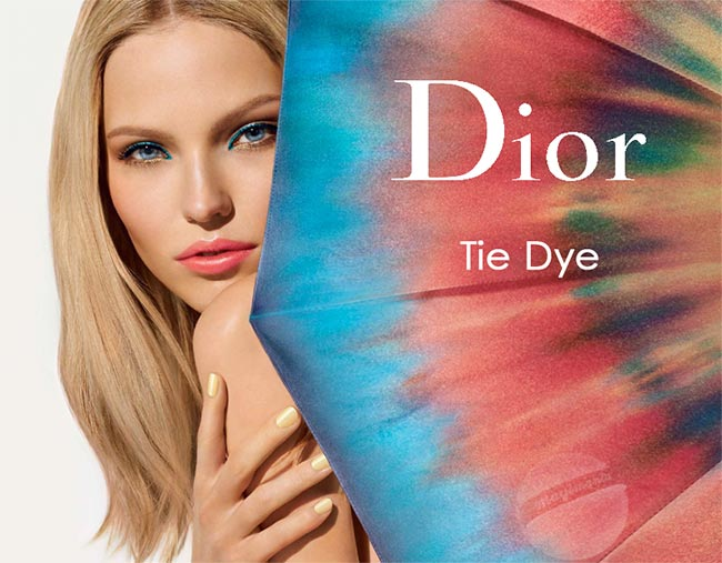 Dior Tie Dye Makeup Collection For 2015 Summer