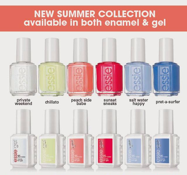 Essie Peach Side Babe 2015 Summer Nail Polish Collection 3