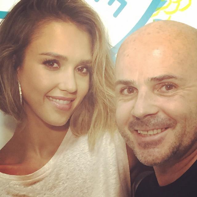 Jessica Alba Join Bob Haircut Trend