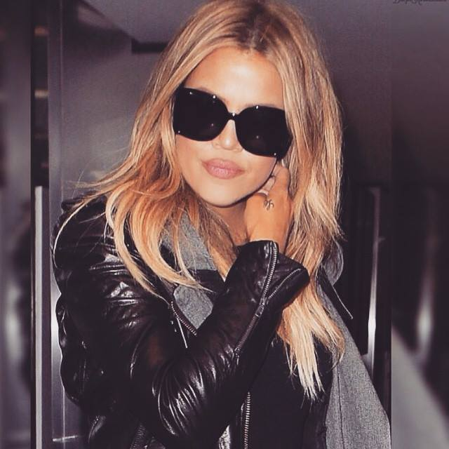 khloe kardashian reveals new blonde hair color fashion trend seeker
