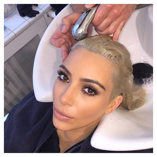 Kim Kardashian Goes Even Lighter With New White Hair Color