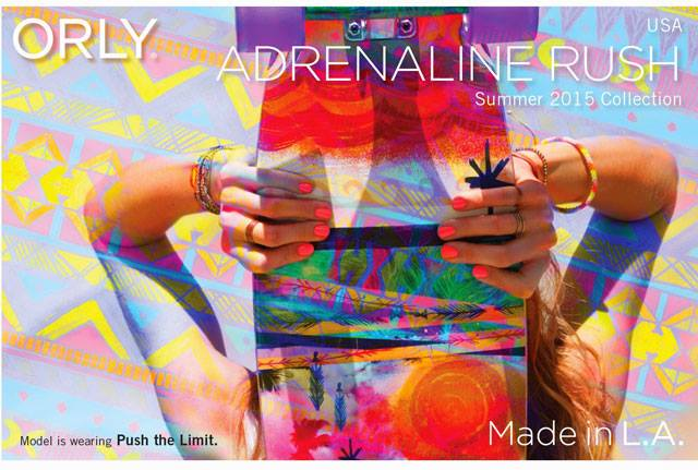 Orly Adrenaline Rush Summer 2015  Nail Polish Collection 2