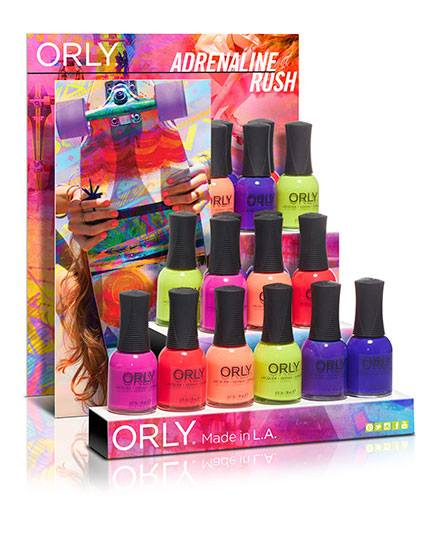 Orly Adrenaline Rush Summer 2015  Nail Polish Collection 4