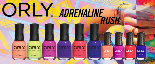 Orly Adrenaline Rush Summer 2015  Nail Polish Collection