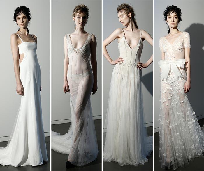 Vera Wang Spring 2016 Wedding Dress Collection 3