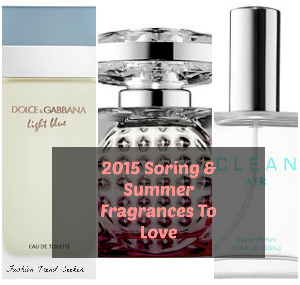 2015 Spring and Summer Fragrances & Perfumes for Women main