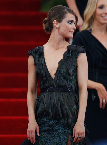 Get The Look - Kerri Russell's 2015 Met Ball Sleek Bun 3