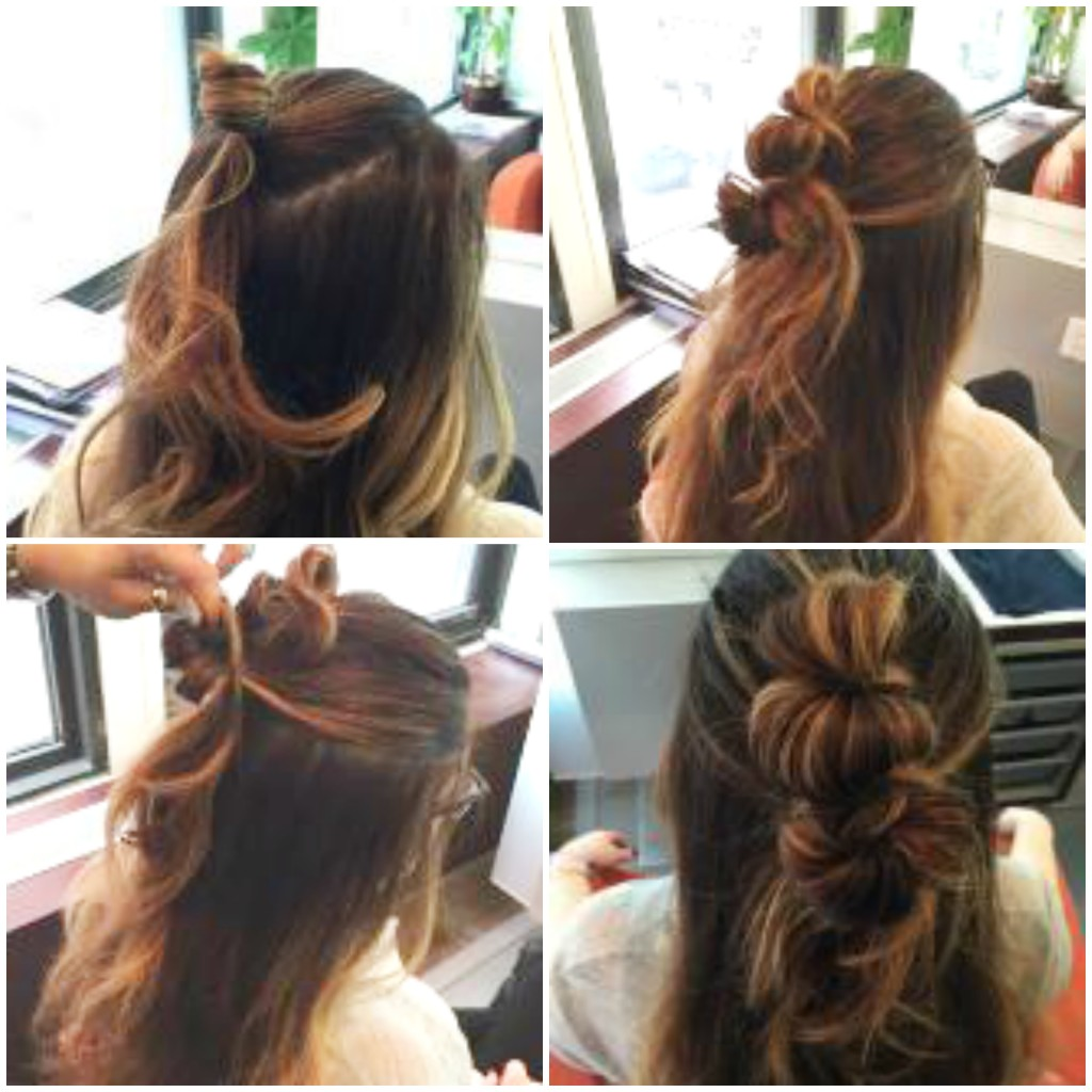 Half-Up Double Knot