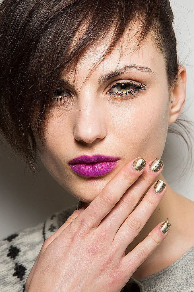 2015 Fall 2016 Winter Nail Polish Trends Fashion Trend